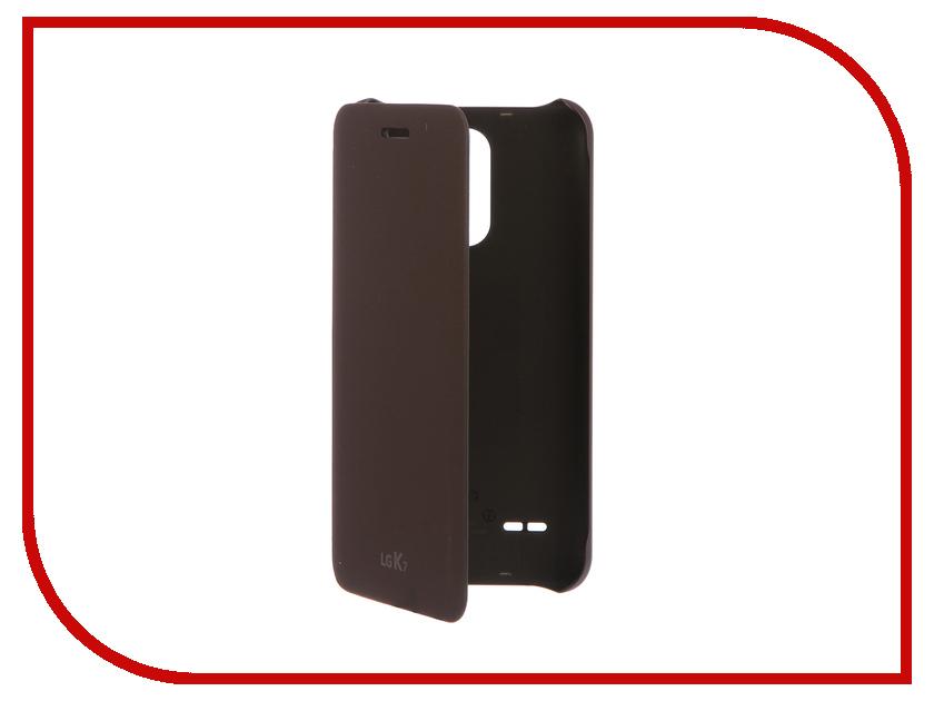 Аксессуар Чехол LG X230 FlipCover Titan LG-CFV-210.AGRABN смартфон lg k7 2017 x230 titan
