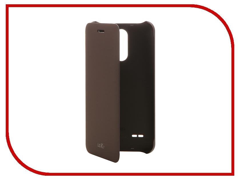 Аксессуар Чехол LG X230 FlipCover Brown LG-CFV-210.AGRATN чехол книжка lg cfv 280 для lg k8 2017 синий
