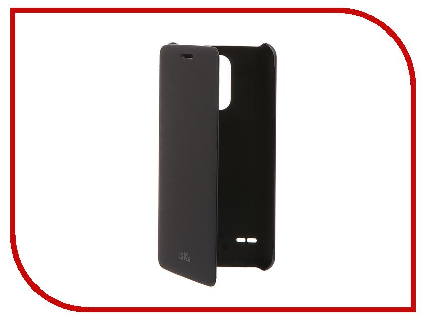 Аксессуар Чехол LG X240 K8 (2017) FlipCover Blue LG-CFV-280.AGRAKU чехол книжка lg cfv 280 для lg k8 2017 синий