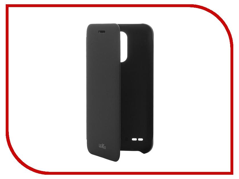 Аксессуар Чехол LG K10 M250 (2017) FlipCover Black LG-CFV-290.AGRABK