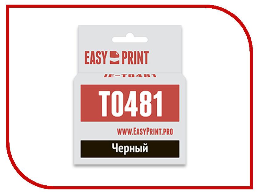 Картридж EasyPrint IE-T0481 Black для Epson Stylus Photo R200/300/RX500/600 с чипом ie 1305a 16 1300er