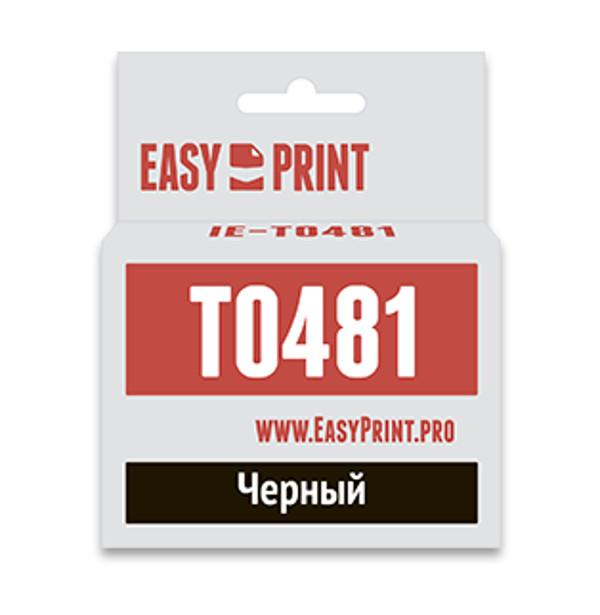 купить Картридж EasyPrint IE-T0481 Black для Epson Stylus Photo R200/300/RX500/600 с чипом онлайн