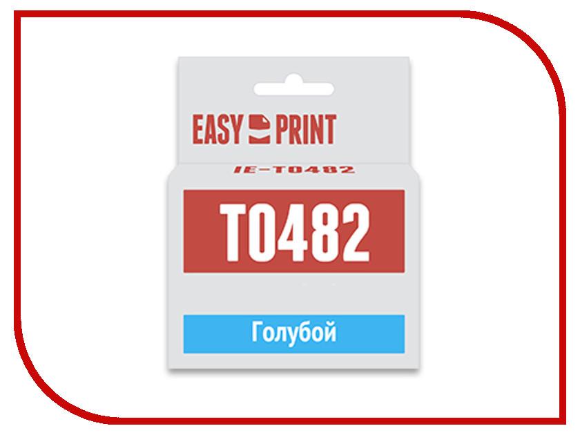 Картридж EasyPrint IE-T0482 Cyan для Epson Stylus Photo R200/300/RX500/600 с чипом ie 1305a 16 1300er