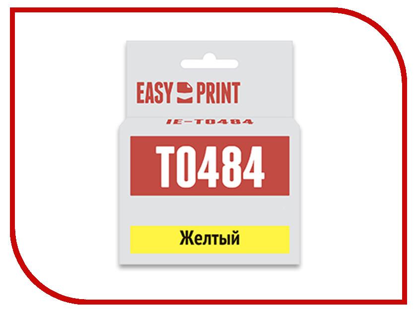 Картридж EasyPrint IE-T0484 Yellow для Epson Stylus Photo R200/300/RX500/600 с чипом ie 1305a 16 1300er