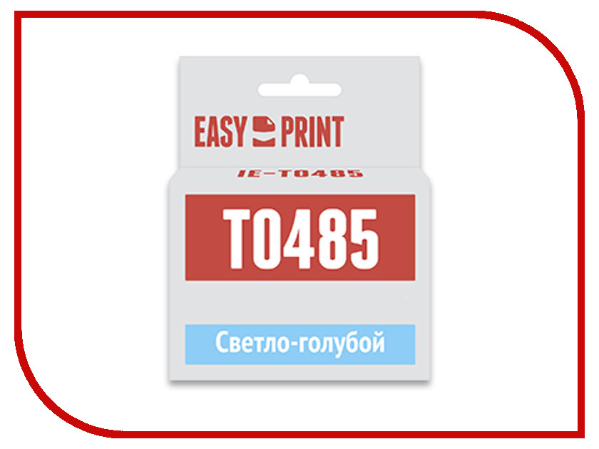 Картридж EasyPrint IE-T0485 Light Cyan для Epson Stylus Photo R200/R300/RX500/RX600 с чипом