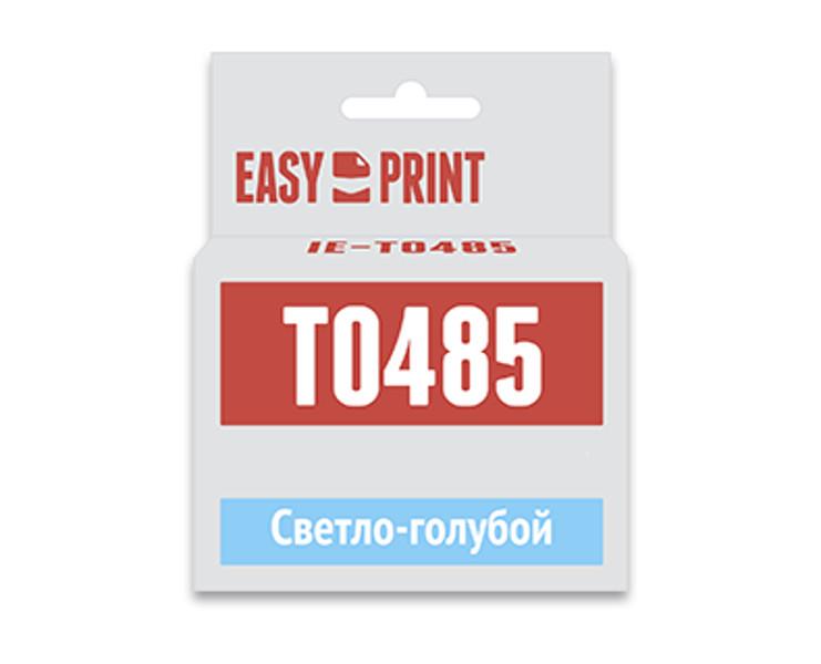 Картридж EasyPrint IE-T0485 Light Cyan для Epson Stylus Photo R200/R300/RX500/RX600 с чипом