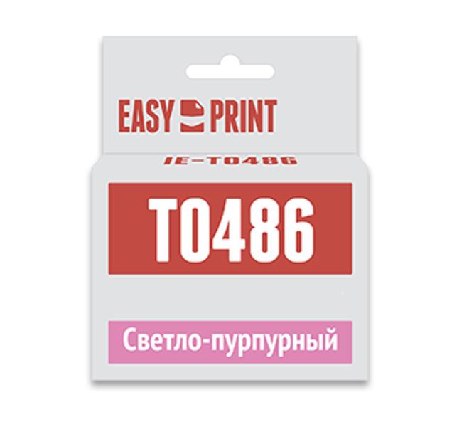 Картридж EasyPrint IE-T0486 Light Purple для Epson Stylus Photo R200/R300/RX500/RX600 с чипом epson t0487 multipack c13t04874010 картридж для stylus photo r200 r300