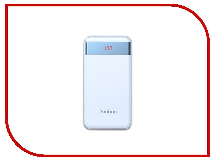 Аккумулятор Yoobao Power Bank M20 Pro 20000mAh Blue pentax optio m20