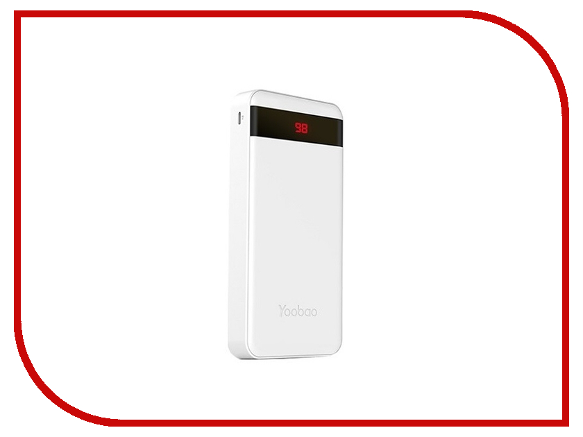 Аккумулятор Yoobao Power Bank M20 Pro 20000mAh White