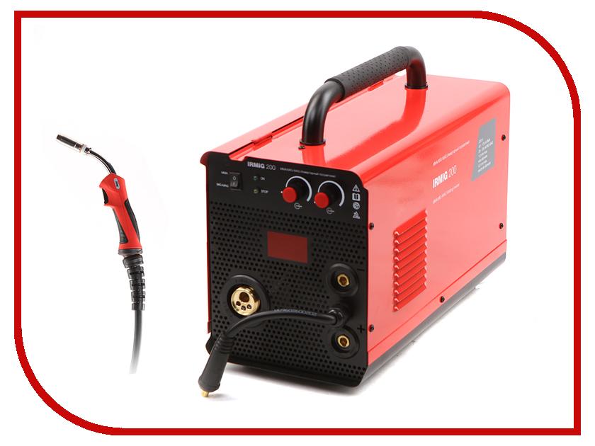 Сварочный аппарат Fubag Irmig 200 с горелкой FB 250 сварочный аппарат fubag inmig 200 plus 38093 маска сварщика fubag optima 9 13