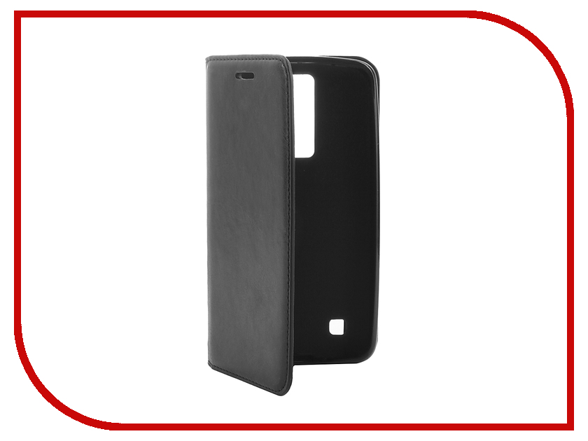 Аксессуар Чехол LG K8/K350E Cojess Book Case New Black с визитницей