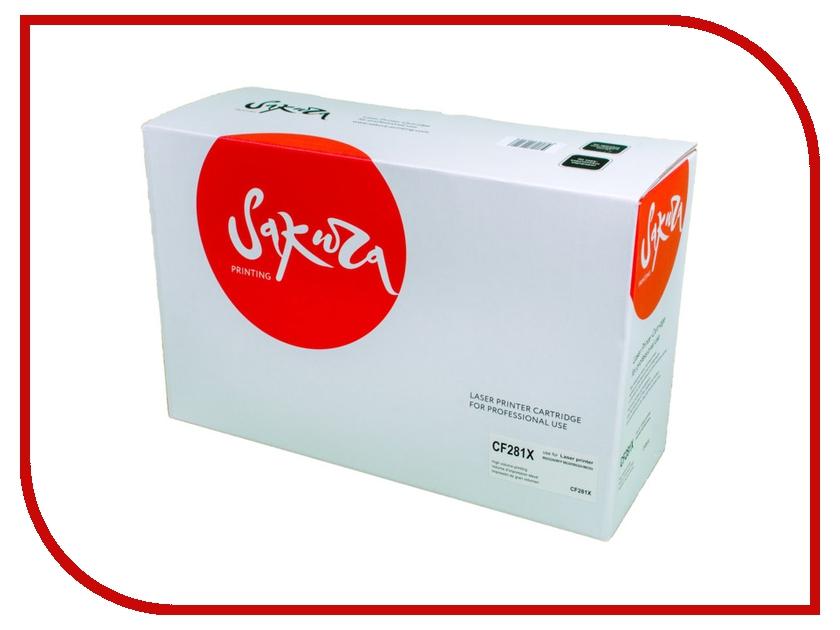 Картридж Sakura SACF281X Black для HP Laserjet M630Z/630dn/630f/630h картридж sakura black для laserjet 4200 4300 4240 4240n 4250 4350 4345 series