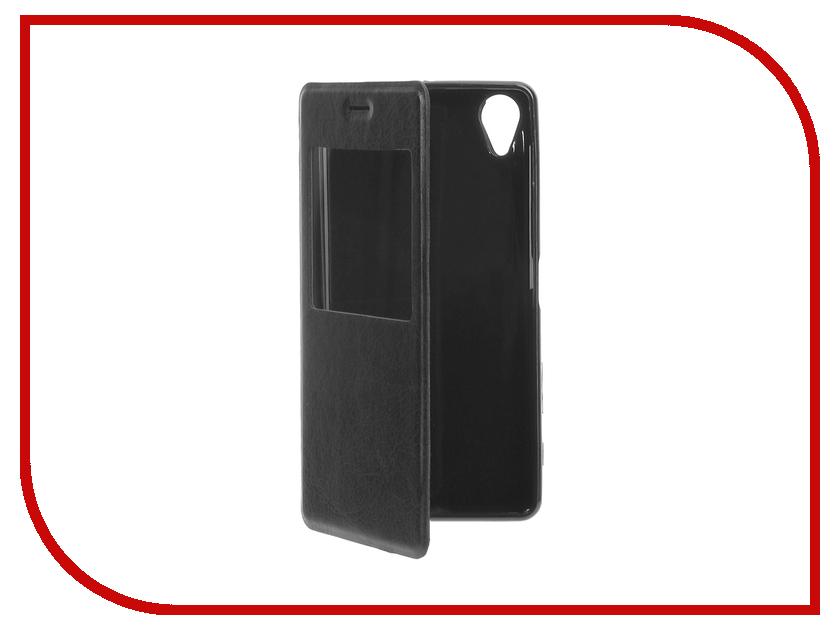 Аксессуар Чехол Sony Xperia X / X Dual / X Performance / X Performance Dual Cojess Book Case Time Black<br>