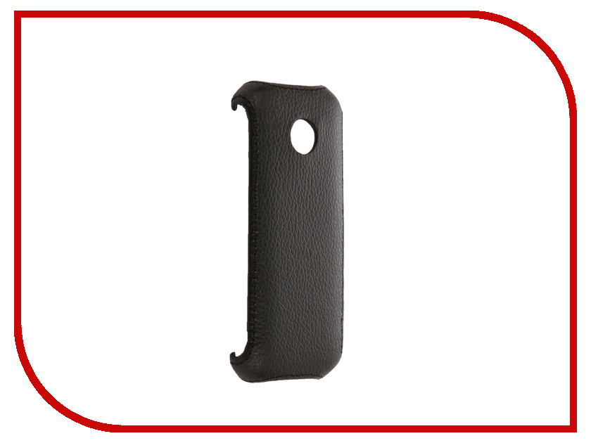 Аксессуар Чехол Philips E160 Zibelino Cover Back Black ZCB-PHL-E160-BLK