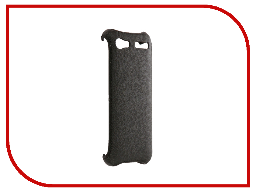 Аксессуар Чехол Philips E570 Zibelino Cover Back Black ZCB-PHL-E570-BLK