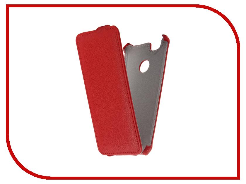 Аксессуар Чехол Huawei Nova Zibelino Classico Red ZCL-HUA-NOV-RED аксессуар чехол tele2 mini 1 1 zibelino classico black zcl tl2 min 1 1 blk
