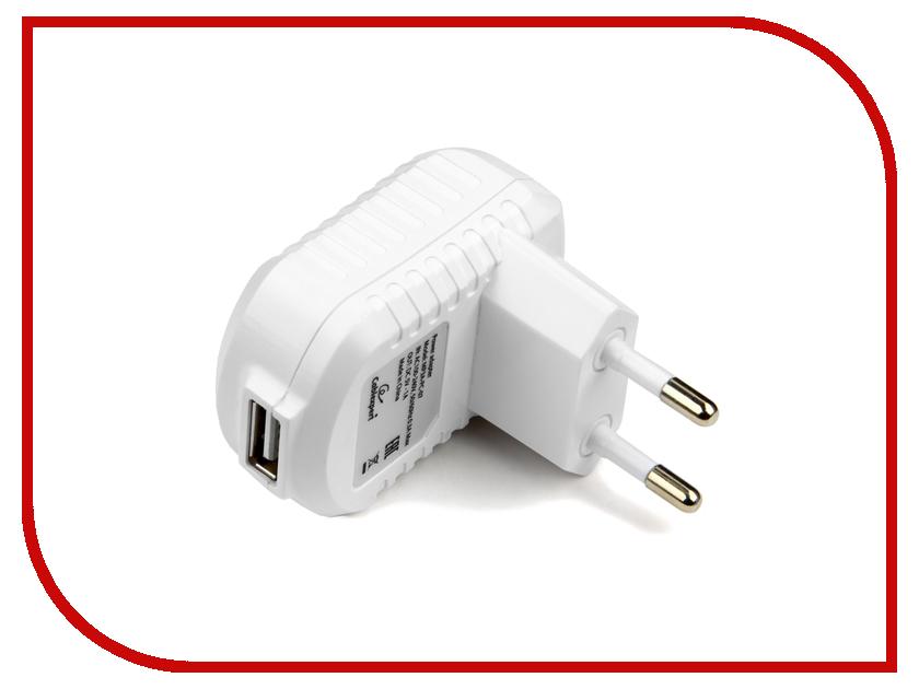 Зарядное устройство Gembird Cablexpert 1A White MP3A-PC-07