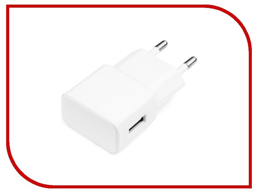 Зарядное устройство Gembird Cablexpert 1A White MP3A-PC-09