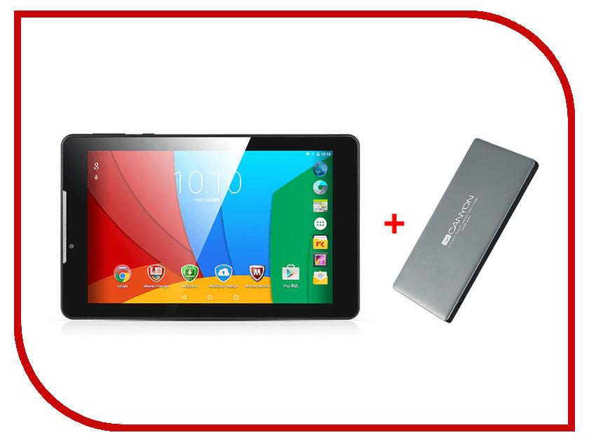 Планшет Prestigio MultiPad Wize 3797 3G Dark Grey PMT3797_3G_C_DG_CIS + Canyon CNS-TPBP5DG (Intel Atom x3 C3230RK 1.2 GHz/1024Mb/8Gb/3G/Wi-Fi/Cam/7.0/1280x800/Android)