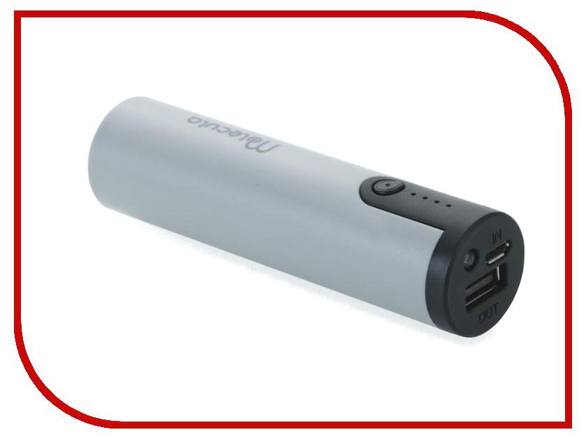 Аккумулятор Molecula Powerbank 2600 mAh PB-2.6-03 Grey
