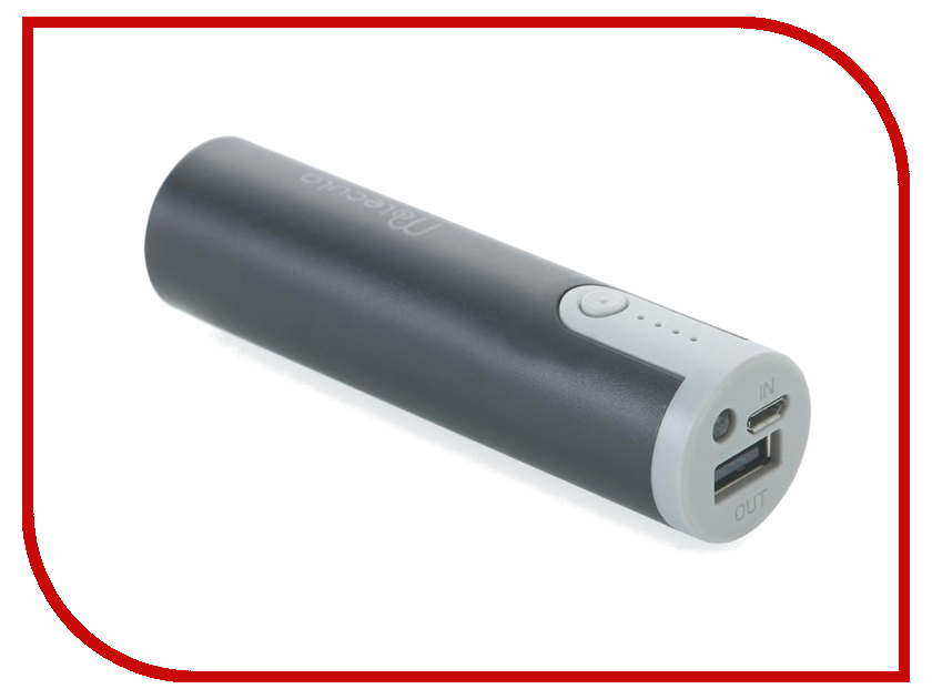 Аккумулятор Molecula Powerbank 2600 mAh PB-2.6-03 Black