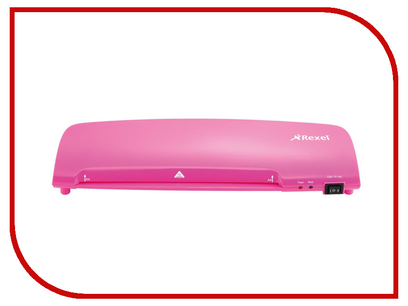 Ламинатор Rexel Joy A4 125 мкм Pink