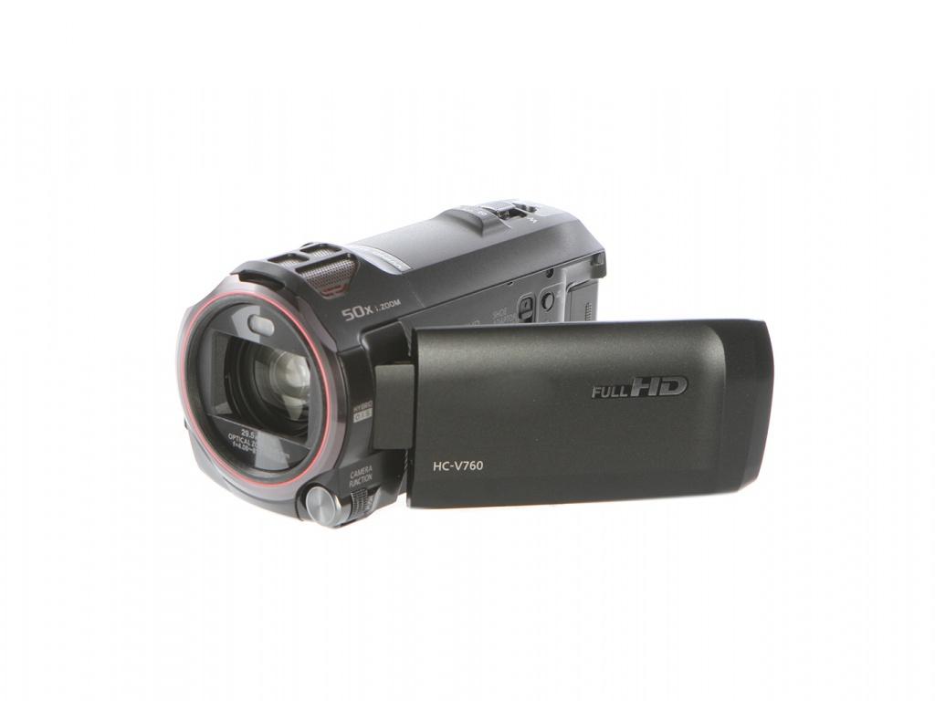 Фото - Видеокамера Panasonic HC-V760 EE-K Black Выгодный набор + серт. 200Р!!! видеокамера