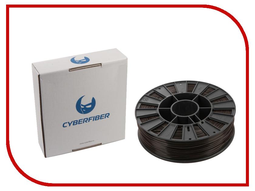 Аксессуар CyberFiber ABS-пластик 1.75mm Brown 750гр аксессуар cyberfiber abs пластик 1 75mm red 750гр