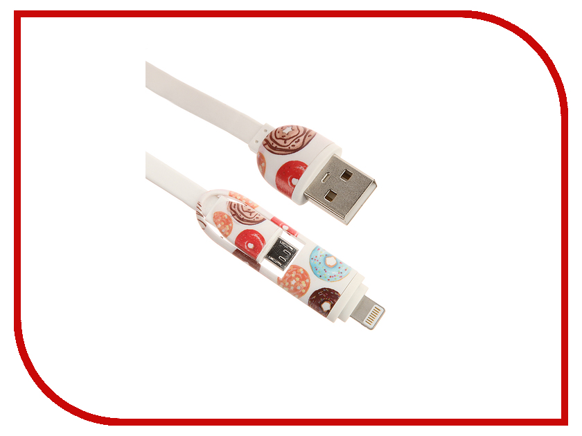 Аксессуар IQ Format Сладости 1 Lightning-USB