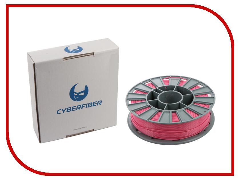 Аксессуар CyberFiber PLA-пластик 1.75mm Pink 750гр