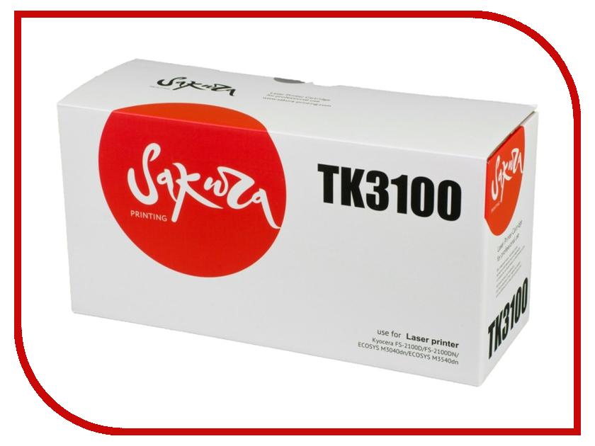Картридж Sakura SATK3100 / TK3100 Black для Kyocera FS-2100D/FS-2100D N/M3040dn/M3540dn