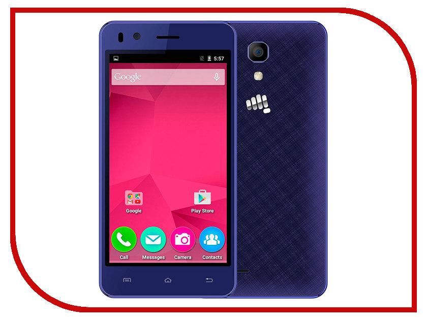 Сотовый телефон Micromax Bolt Q424 Blue<br>