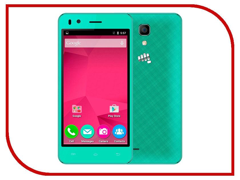 Сотовый телефон Micromax Bolt Q424 Green<br>