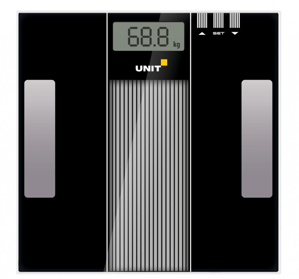 Весы напольные UNIT UBS-2210 Black