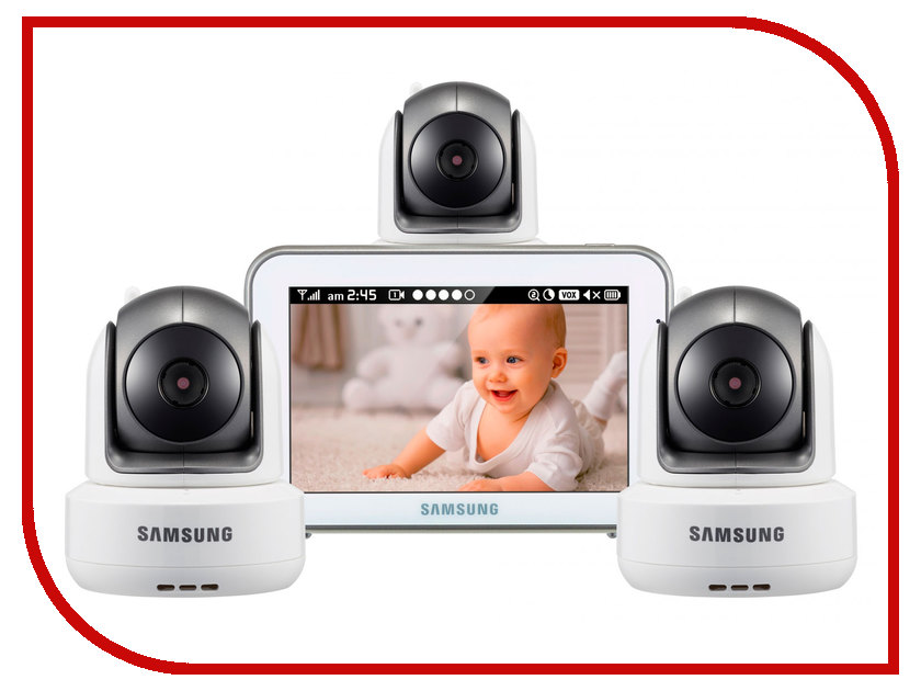 Видеоняня Samsung SEW-3043WPX3 samsung видеоняня sew 3057wp цвет белый