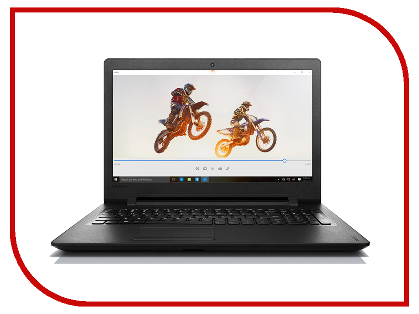Ноутбук Lenovo IdeaPad 110-15ACL 80TJ00D3RK (AMD E1-7010 1.5 GHz/4096Mb/500Gb/DVD-RW/AMD Radeon R2/Wi-Fi/Bluetooth/Cam/15.6/1366x768/Windows 10 64-bit) ноутбук lenovo ideapad 110 17 17 3 led e series e2 7110 1800mhz 4096mb hdd 500gb amd radeon r2 series 64mb free dos [80um001vrk]