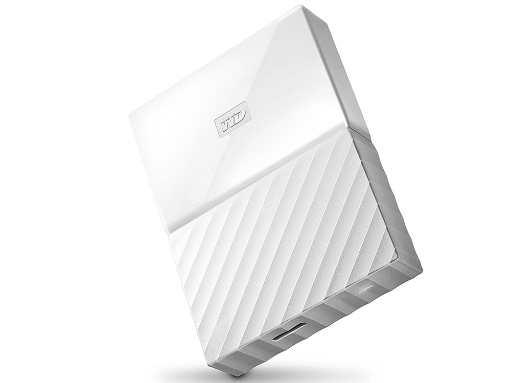 Жесткий диск Western Digital My Passport 2.5 4Tb White WDBUAX0040BWT-EEUE