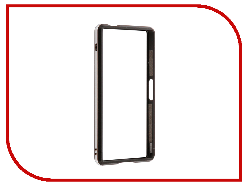 Аксессуар Чехол Sony Xperia Z5 Compact BROSCO Black Z5C-BMP-BLACK ip6 tpu bmp black