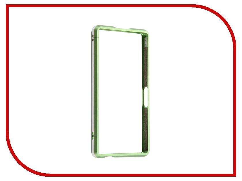 Аксессуар Чехол Sony Xperia Z5 Compact BROSCO Green Z5C-BMP-GREEN