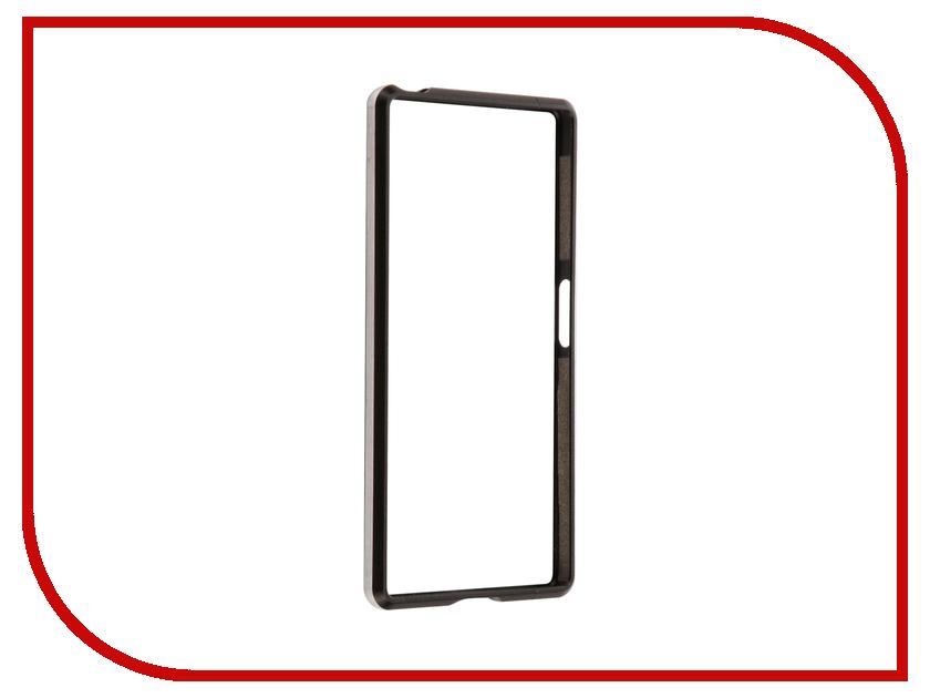 Аксессуар Чехол Sony Xperia Z5 BROSCO Black Z5-BMP-BLACK ip6 tpu bmp black