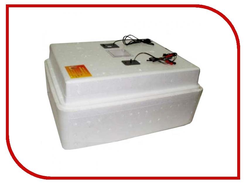 Инкубатор Несушка БИ-2 м 77 яиц, автоповорот, цифровой терморегулятор, измеритель влажности, 220/12В