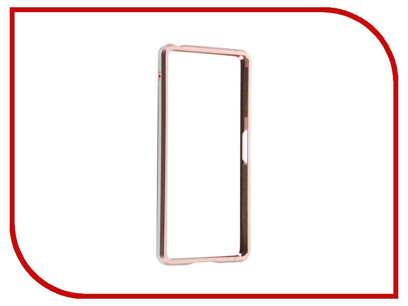 все цены на Аксессуар Чехол Sony Xperia X Performance BROSCO Rose Gold XP-BMP-ROSEGOLD онлайн