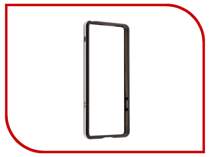 Аксессуар Чехол Sony Xperia XA BROSCO Black XA-BMP-BLACK