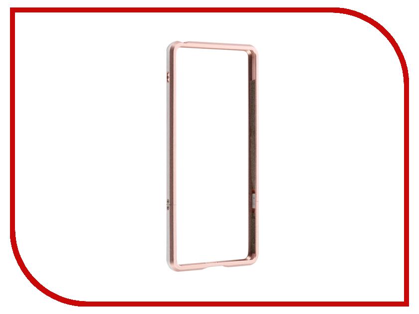 Аксессуар Чехол Sony Xperia XA BROSCO Rose Gold XA-BMP-ROSEGOLD<br>