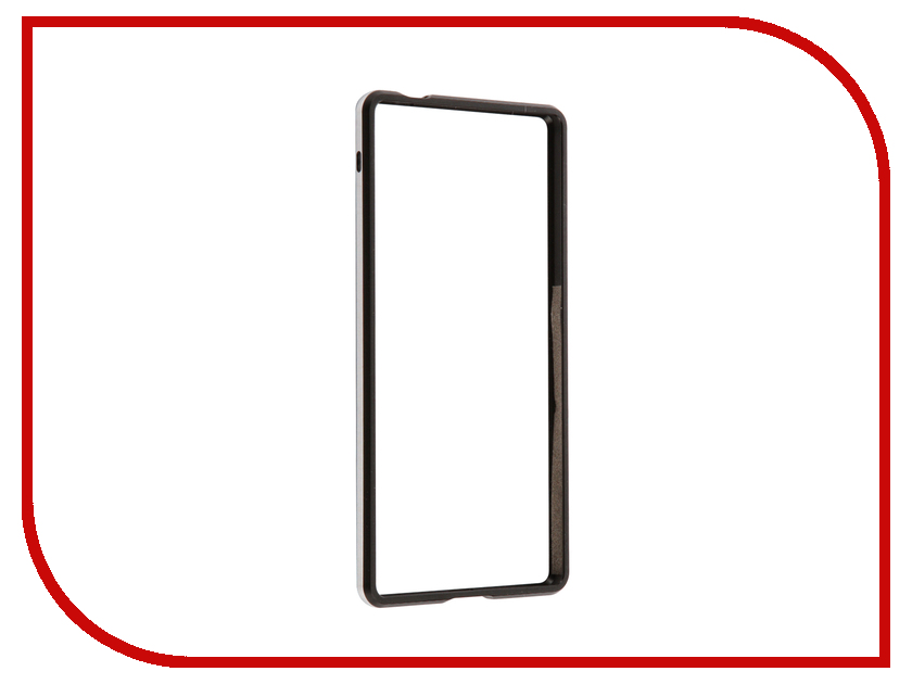 Аксессуар Чехол Sony Xperia XA Ultra BROSCO Black XAU-BMP-BLACK аксессуар чехол htc u ultra brosco black htc uu book black