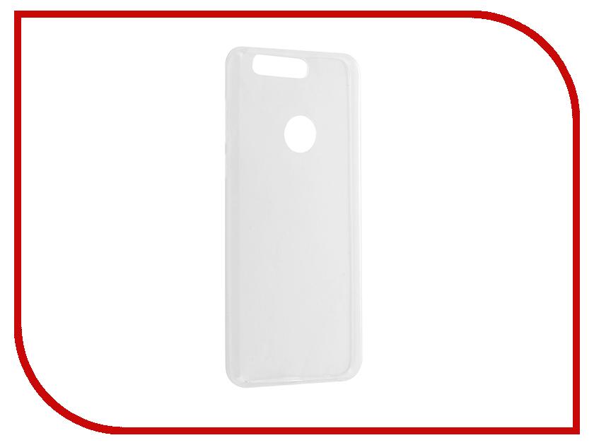 Аксессуар Чехол Huawei Honor 8 BROSCO Silicone 4side Transparent HW-H8-TPU-TRANSPARENT аксессуар чехол xiaomi redmi note 4 brosco transparent xm rn4 tpu transparent