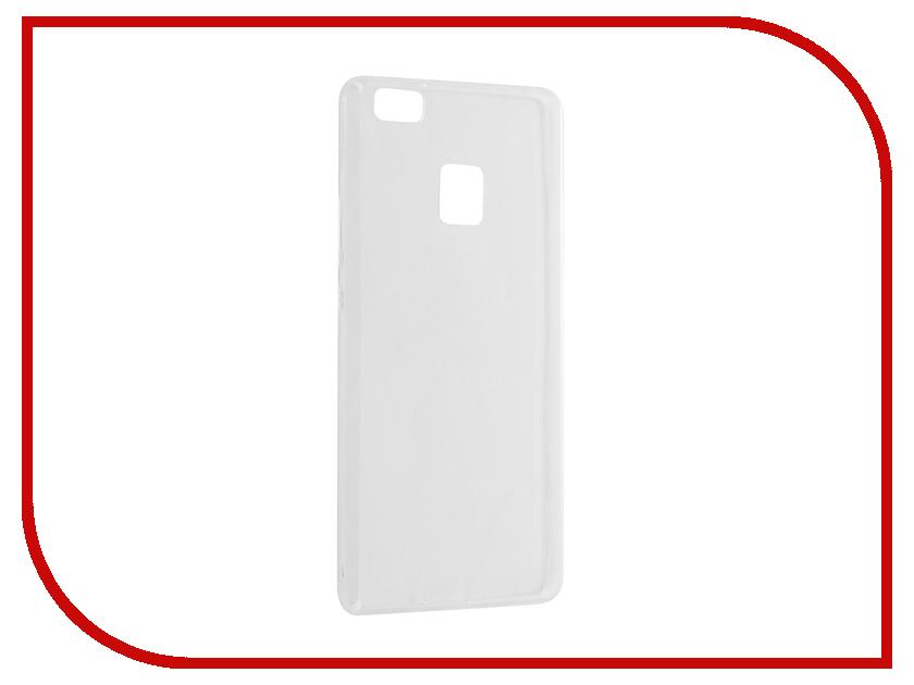 Аксессуар Чехол Huawei P9 Lite BROSCO Silicone 4side Transparent HW-P9L-TPU-TRANSPARENT<br>
