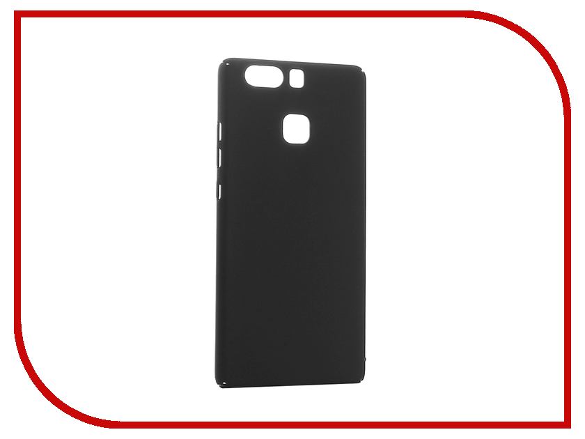 Аксессуар Чехол Huawei P9 BROSCO SoftTouch 4side Black HW-P9-4SIDE-ST-BLACK<br>