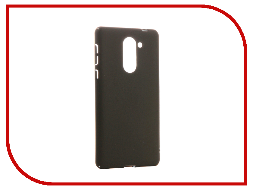 Аксессуар Чехол Huawei Honor 6X BROSCO SoftTouch 4side Black HW-H6X-4SIDE-ST-BLACK аксессуар чехол htc u ultra brosco softtouch 4side black htc uu 4side st black