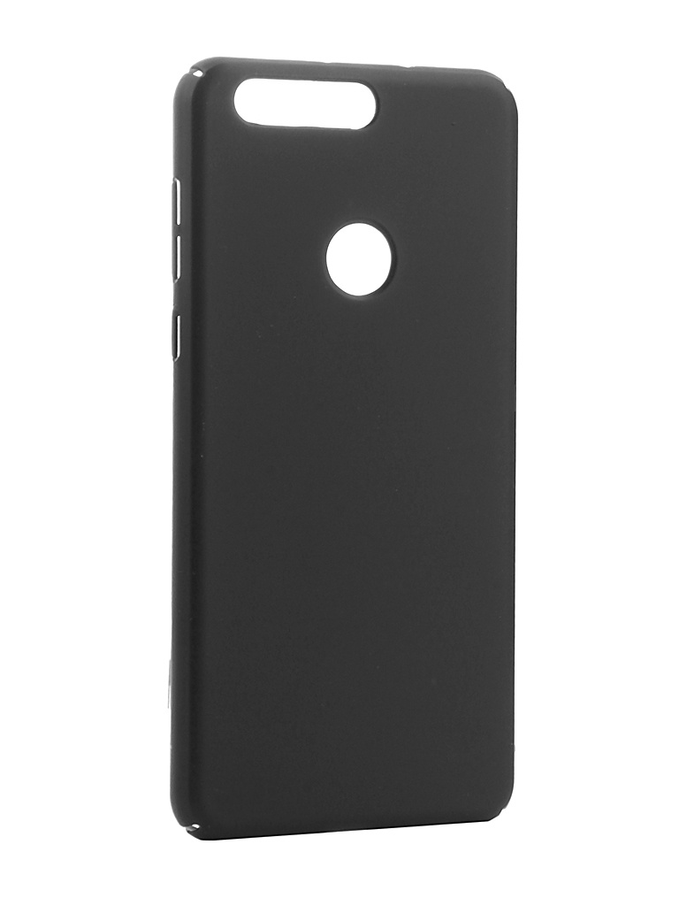 Аксессуар Чехол Brosco для Honor 8 SoftTouch 4side Black HW-H8-4SIDE-ST-BLACK